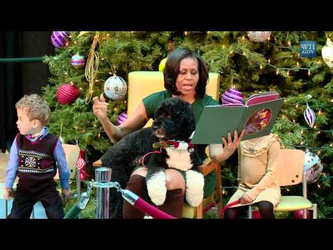 The First Lady Reads &quot;'Twas The Night Before Christmas&quot;