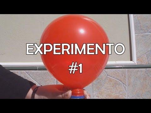 EXPERIMENTANDO: Como inflar un globo con vinagre y bicarbonato sódico