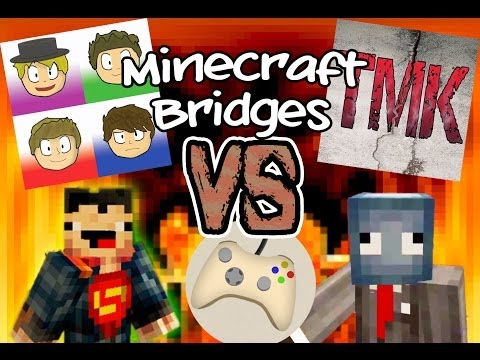 Minecraft Bridges Versus! - CD vs TMK vs TSG