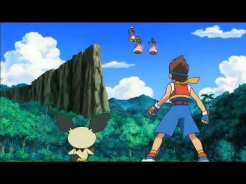 Pokemon Ranger - Tracks of light English Movie (part 1 + 2 ).rmvb