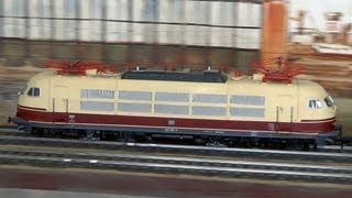 Die größte Modelleisenbahn in Spur 1 in Hamburg