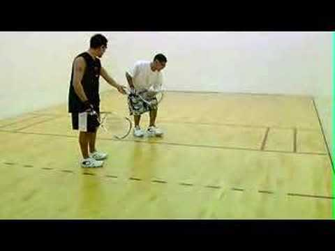 The Drive Serve (to the forehand)