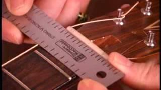 Watch the Trade Secrets Video, String Spacing Rule