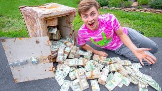 1 MILLION DOLLARS FOUND IN SAFE!! (CONFISCATED)