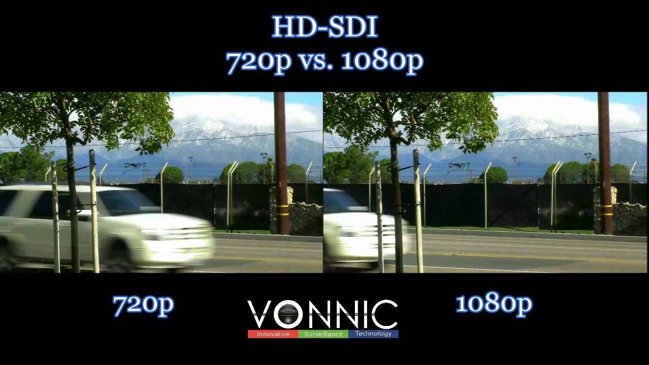 Hd Sdi 720p Vs 1080p Youtube