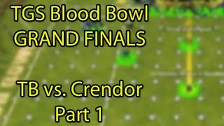 TGS Blood Bowl Finals - Crendor vs Total Biscuit (The Beginning of the End) Part 1