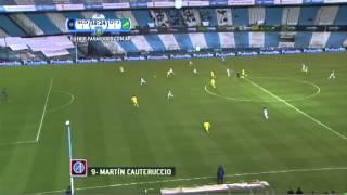 Gol de Cauteruccio. San Lorenzo 1 - Defensa 1. 8vos de Final. Copa Argentina 2014.