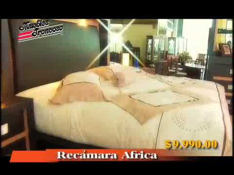 Muebles troncoso recamara africa youtube for Muebles troncoso salas