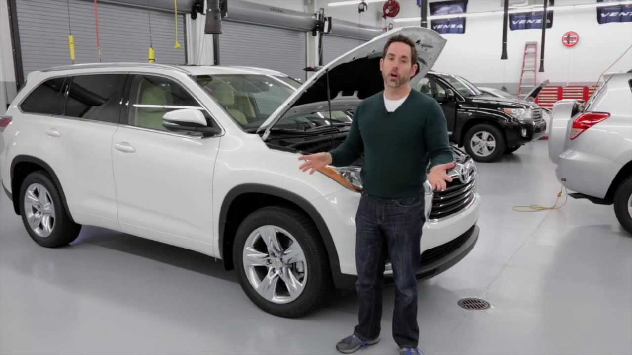 Toyota Highlander 2014 Walkaround Youtube
