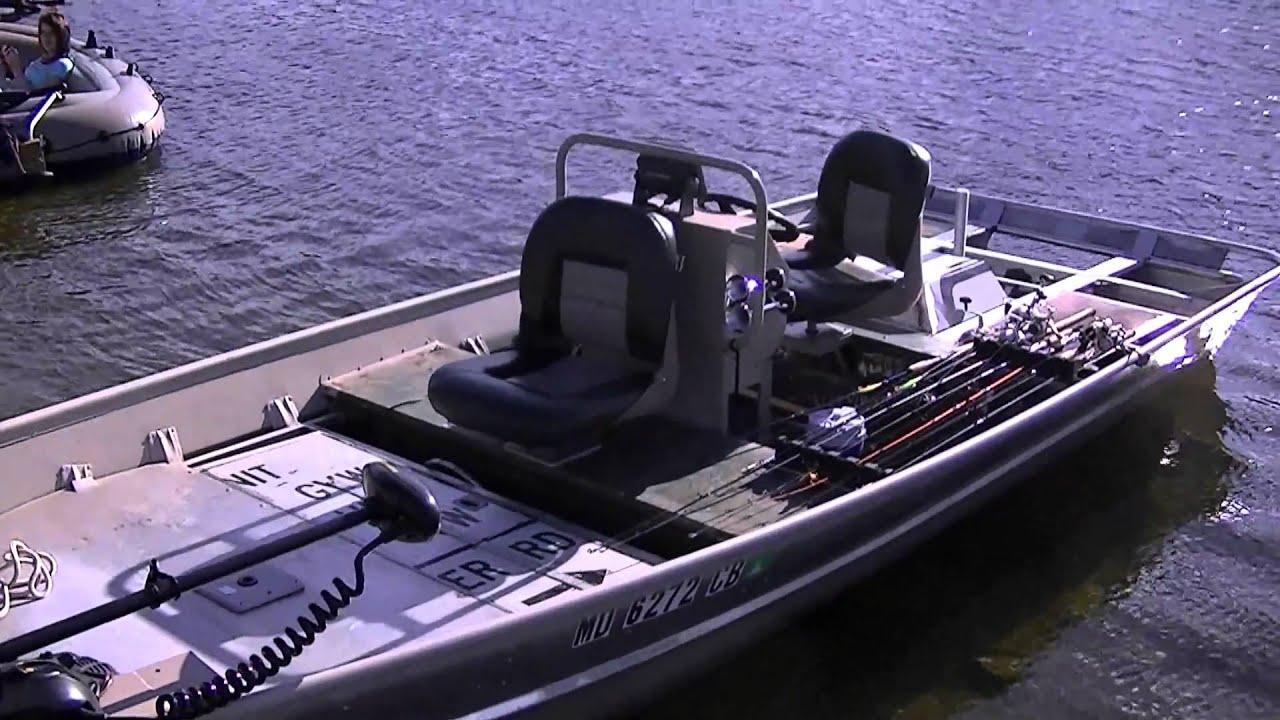 Jamie 39 S Seadoo Powered Bass Boat 9 13 10 Pt 1 Jet Ski Jon