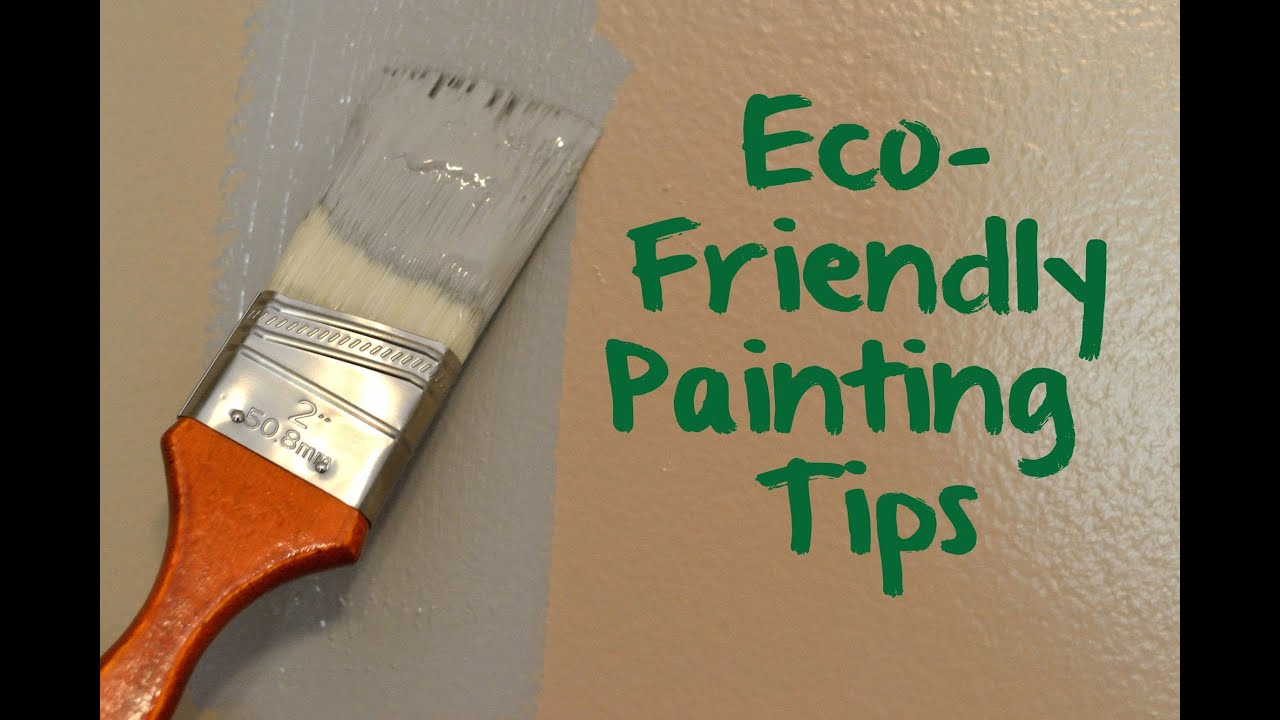 Green Nursery Eco Friendly Painting Tips Youtube