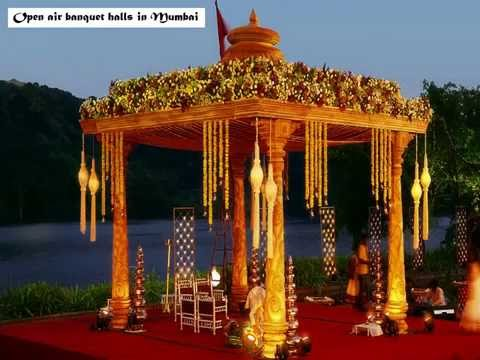 Scintillating open air banquet halls in Mumbai for weddings