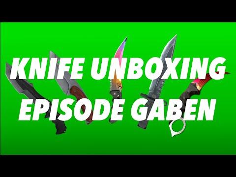 CS:GO Knife Unboxing Reactions! ~ Episode GabeN