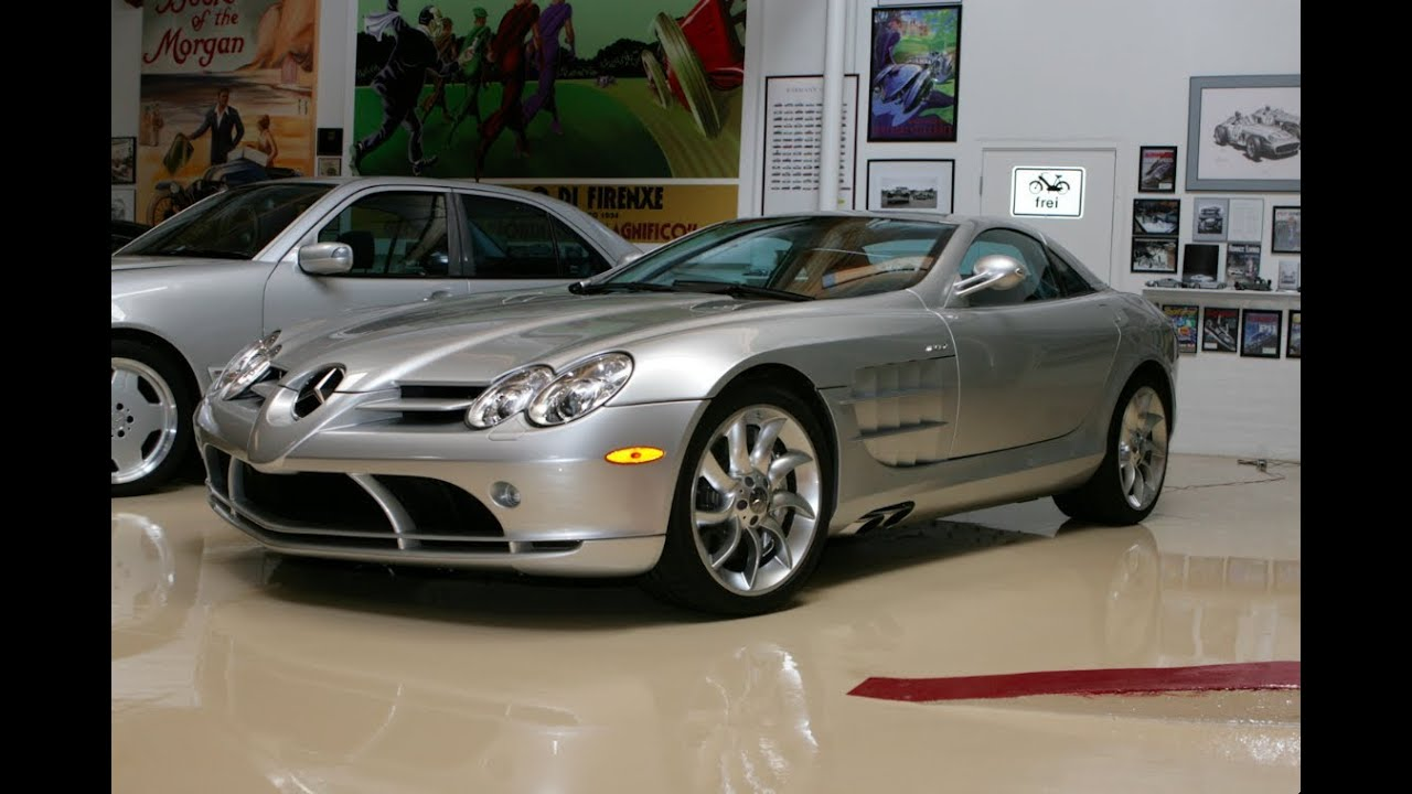Mercedes benz slr mclaren jay leno 39 s garage youtube for Mercedes benz garages