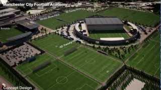 City Football Academy: Fly-through