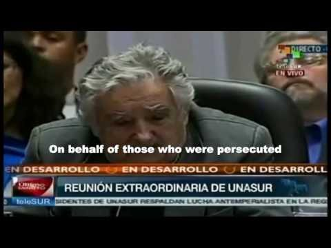 Excellent Speech by Uruguayan President Mujica In Response To Morales Plane Incident (ENGLISH SUB)