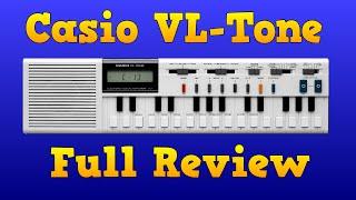 Casio VL-TONE VL-1 Full  Review