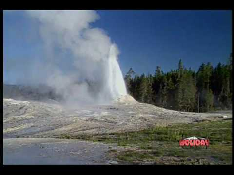 Yellowstone National Park DVD Postcard - X