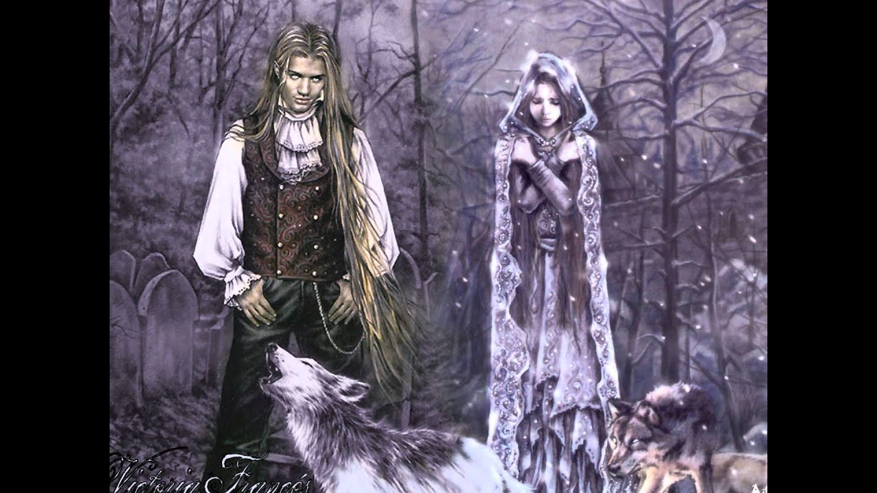 Gothic Art of Victoria Frances - YouTube