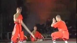 Extrait du spectacle « Les moines de Shaolin : l'itinéraire de Shami à Shaolin »