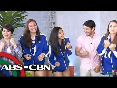 Lady Eagles do 'happy dance' on UKG