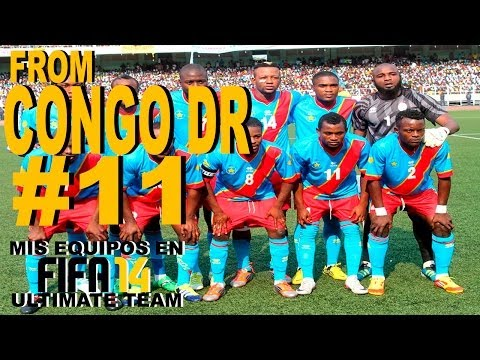 Mis equipos en FIFA 14 Ultimate Team | #11 - from CONGO DR