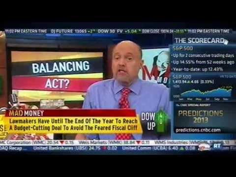 Jim Cramer is not a Patriotic Millionaire, but he sure sounds like one