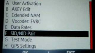 HOW TO REPROGRAM YOUR SID, MIN, MDN NUMBER