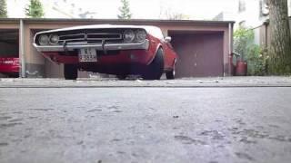 1971 Dodge Challenger R/T originaler Sound videos