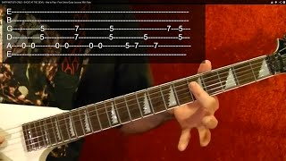 BLACK SABBATH ELECTRIC FUNERAL How To Play Free