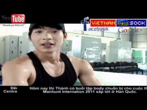VOTE for siêu mẫu Nam Thành khoe body chuẩn bị thi Manhunt International 2011