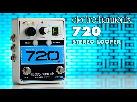 Electro Harmonix 720 Stereo Looper Effects Pedal for Guitar