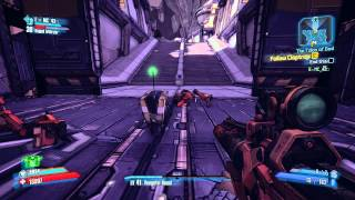 Borderlands 2 : Claptrap stair scene