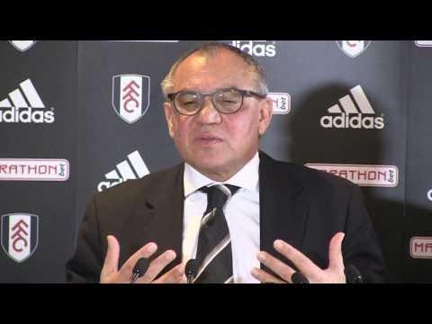 Felix Magaths erste Pressekonferenz beim FC Fulham in voller Länge | Nur bei SPOX