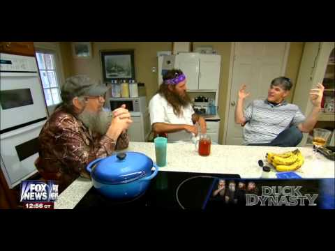 • Willie Robertson & Uncle Si interview • Duck Dynasty • Hannity • 6/2/14 •