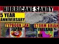 HURRICANE SANDY 5 Years STORM BRIAN Ireland UK TYPHOON LAN JAPAN