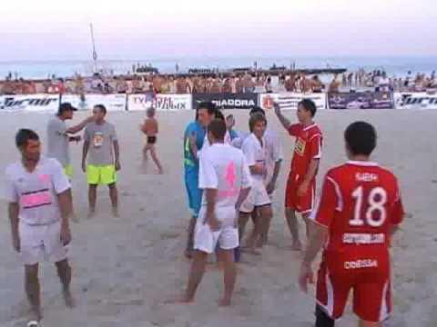 Пляжный футбол. Финал