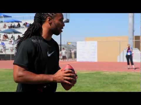 Larry Fitzgerald Football ProCamp Highlights