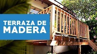Construir una terraza de madera