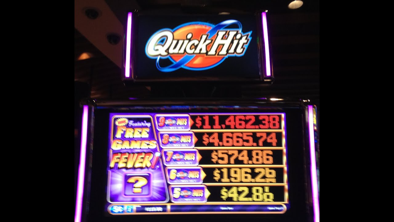 free coin quick hit slots youtube