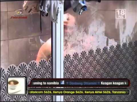 BigBrotherAfrica7 TaliaKeagan Shower Gets Intimate