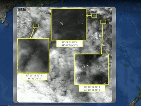 Flight 370 search: Thai satellite identifies hundreds of objects in Indian Ocean