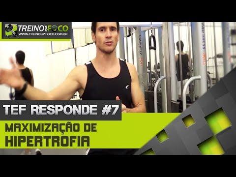 Treino em FOCO Responde #7 - Maximização de hipertrofia muscular