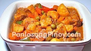 Pork Kaldereta by Panlasangpinoy