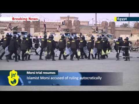 Mohammed Morsi Trial: Security tight in Cairo as trial of ousted Islamist Egyptian President begins