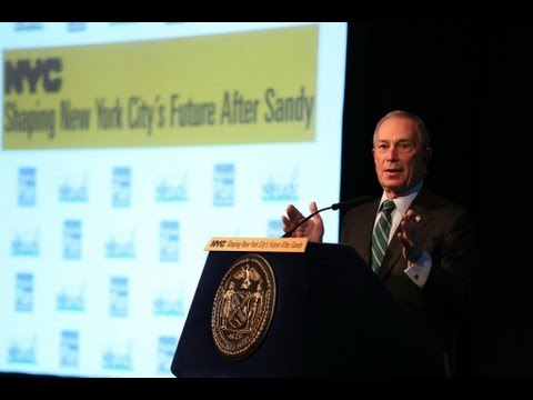 Mayor Bloomberg Delivers Address on Shaping NYC's Future After Hurricane Sandy