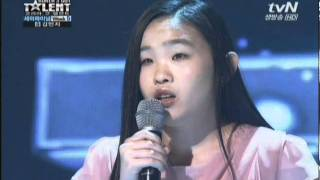 김민지_Korea's Got Talent 2011 Semi-Final Week5