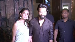 Shahid Kapoor And Meera Rajput Diwali Party Pics
