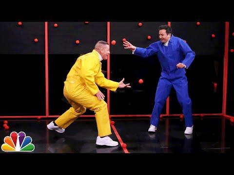 Sticky Balls with John Cena