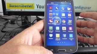 Como Organizar Las App En Android Samsung Galaxy S3 Español